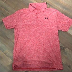 Under Armoir Loose polo style shirt